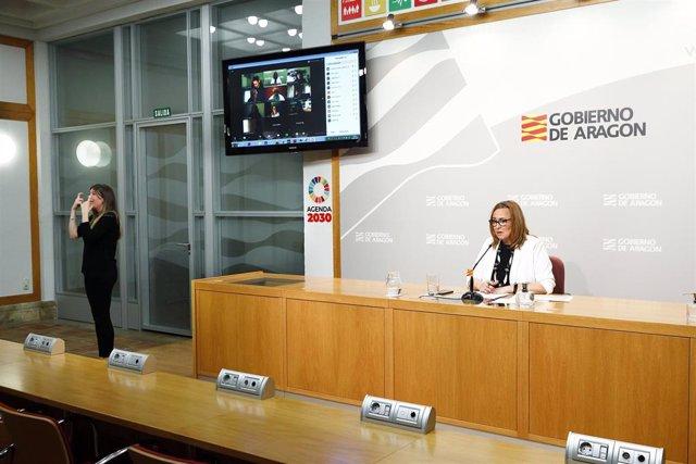 La consejera de Presidencia, Mayte Pérez