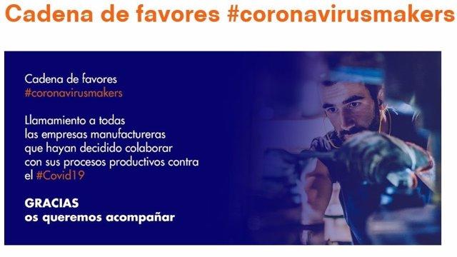 COMUNICADO: Cadena de favores para financiar la lucha contra el COVID-19