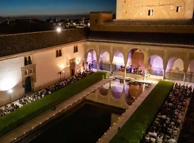 Festival de Música y Danza de Granada, en imagen de archivo