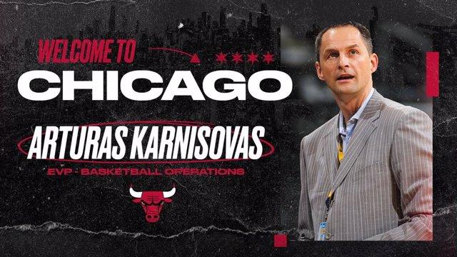 Baloncesto/NBA.- Arturas Karnisovas, nuevo vicepresidente ejecutivo de Chicago B