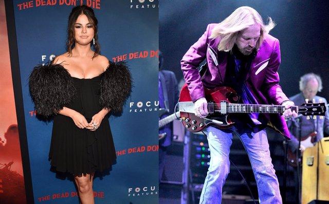 Selena Gomez y Tom Petty
