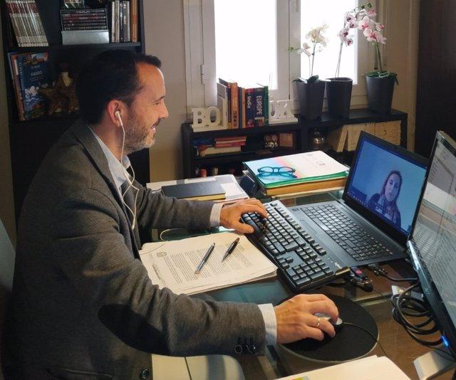 Director académico del CEP CEU Andalucía, Juan Ignacio de la Fuente