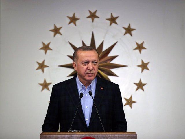 Coronavirus.- Turquía anuncia con tiempo el confinamiento para el próximo fin de