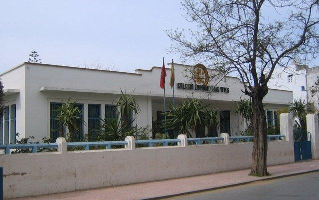 Colegio español Luis Vives en la localidad de Larache (Marruecos).