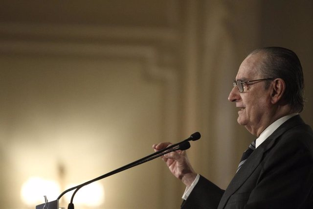 El expresidente del Congreso y exministro de Justicia Landelino Lavilla