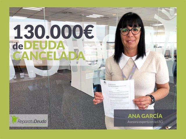 COMUNICADO: Repara tu Deuda cancela 130.000 eur con 35 bancos a un manresano con