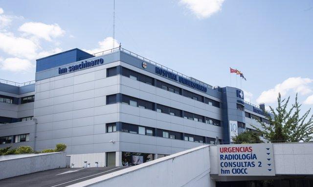 Fachada principal del hospital HM Sanchinarro