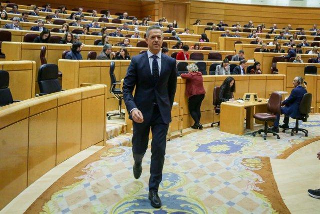 El portaveu del Grup Parlamentari Socialista al Senat, Ander Gil, Madrid (Espanya) 3 de març del 2020.