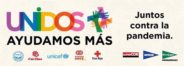 Coronavirus.- El Corte Inglés colabora con cinco ONG para lanzar tarjetas solida