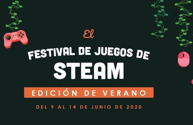 La edición de verano del Festival de Juegos de Steam se celebrará del 9 al 14 de