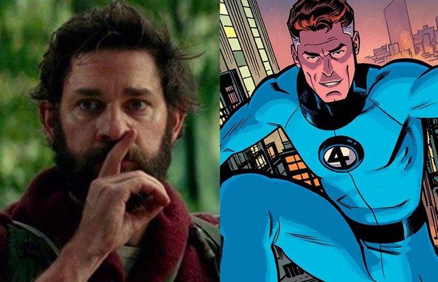 John Krasinski se reúne con Marvel Studios: ¿Llegan Los 4 Fantásticos al UCM?