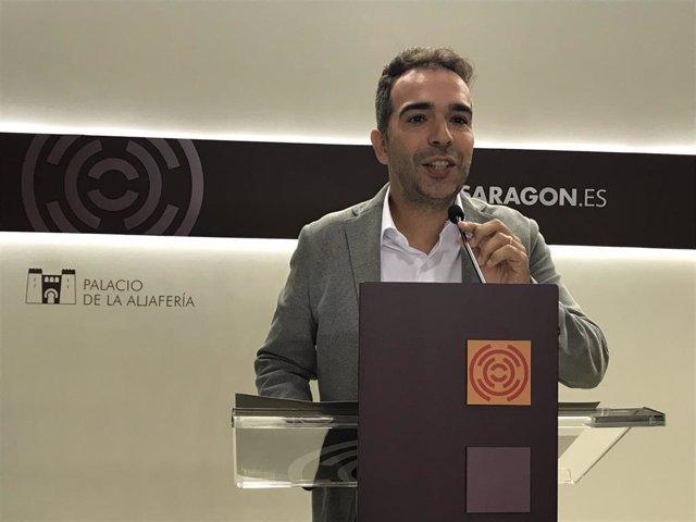 El diputado del PAR, Jesús Guerrero.