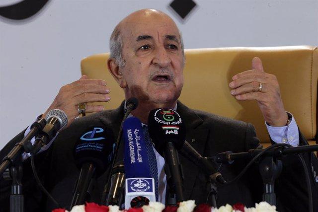 Argelia.- Argelia anuncia la muerte de tres presuntos terroristas en dos operaci
