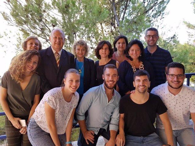 Integrantes del grupo de investigación 'Estrés celular y edad' de la UJA