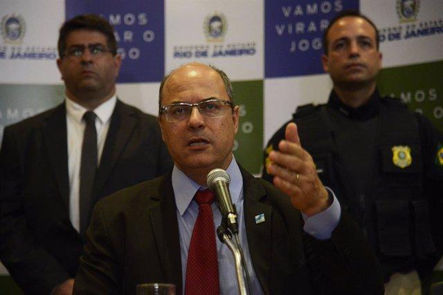 Coronavirus.- El gobernador de Río de Janeiro anuncia que tiene coronavirus