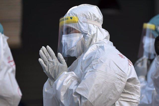Coronavirus.- ACNUR y el Consejo de Europa animan a contar con profesionales san