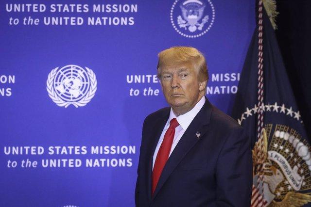 EEUU.- Trump prosigue con la OMS su lista de agravios a la ONU