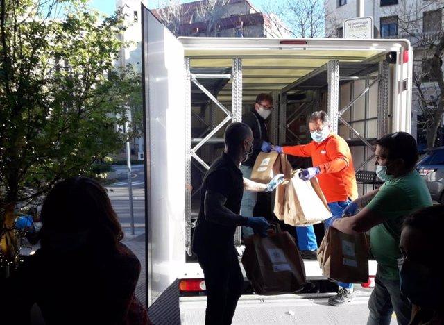 Seur pone su red logística y su capacidad operativa para trasladar material sanitario y alimentos