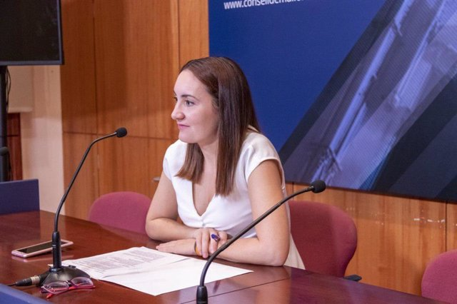 Portavoz de Cs en el Consell de Mallorca, Beatriz Camiña