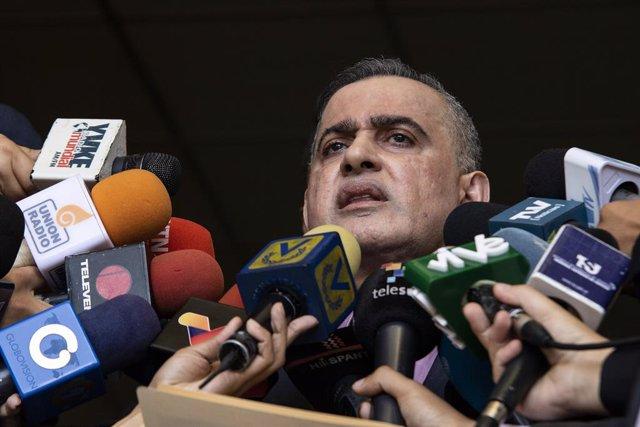 """Coronavirus.- El fiscal general de Venezuela achaca al """"karma"""" el retorno de los"""