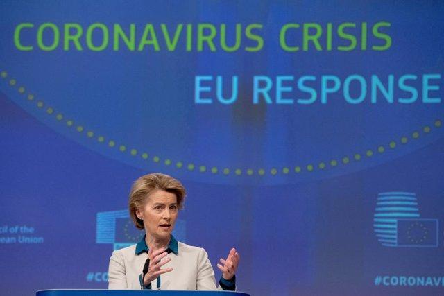 """Coronavirus.- La UE pide a los 27 coordinar una salida """"gradual"""" del confinamien"""