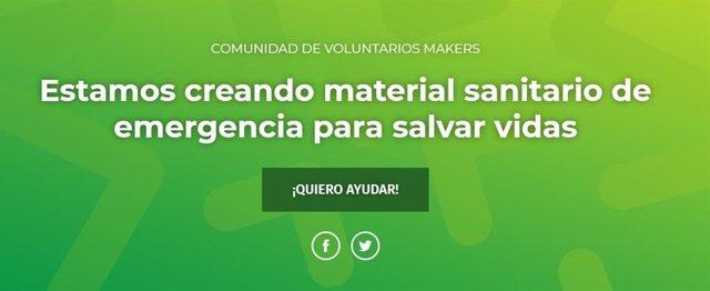 Web de Coronavirusmakers
