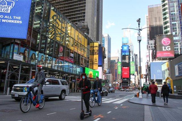 Imagen de Times Square en Nueva York (Estados Unidos)