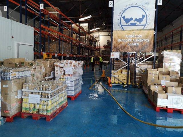 Jaén.- Coronavirus.- El Banco de Alimentos llama a la solidaridad al no poder ll