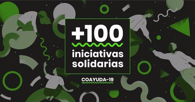 Cartel de la web Coayuda-19