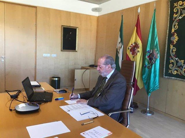 Villalobos participa en las sesiones telemáticas