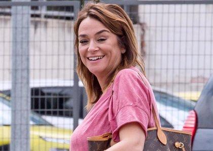 """Toñi Moreno, """"desbordada"""" como madre durante la cuarentena"""