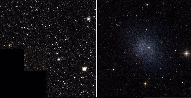 Galaxias satélite de la Vía Láctea pueden probar la materia oscura