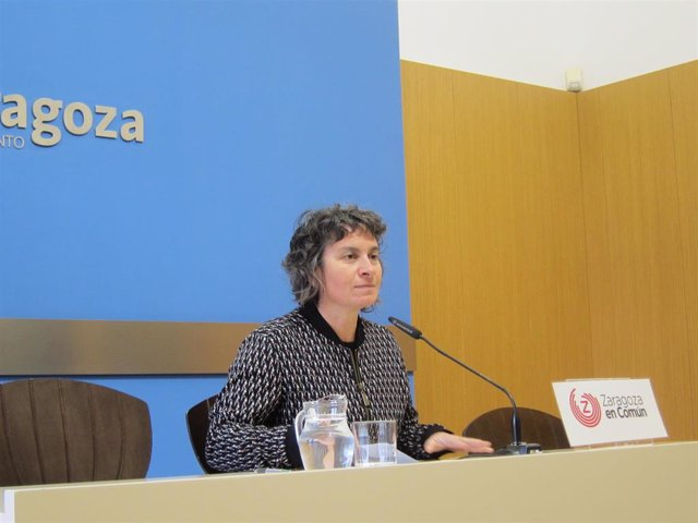 La concejal de ZeC, Luisa Broto