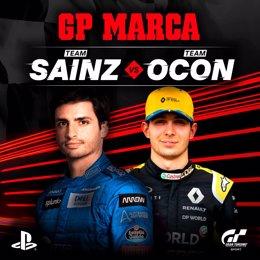 Fórmula 1.- Carlos Sainz y Esteban Ocon, capitanes en el GP Marca de Gran Turism