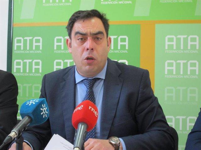 El presidente de ATA Andalucía, Rafael Amor, en una imagen de archivo.