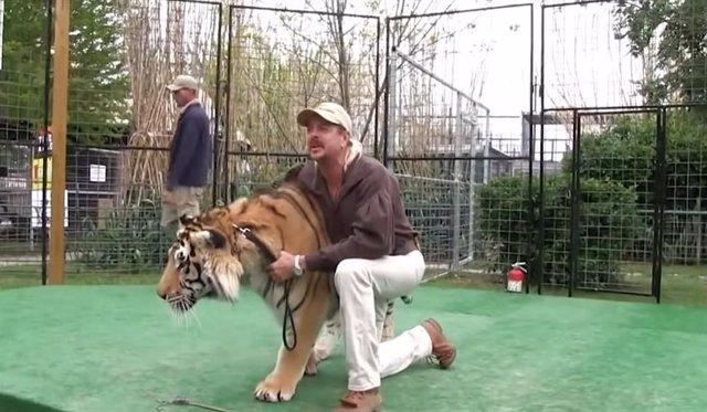 Tiger King (Rey Tigre) la miniserie documental de Netflix