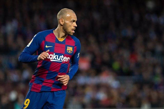 """Fútbol.- Braithwaite: """"¿El jugador más rápido del Barça? Estás hablando con él"""""""