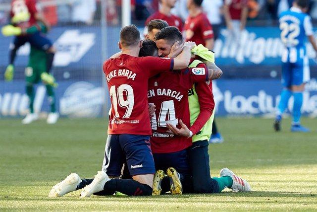 Fútbol.- Osasuna renueva a Kike Barja hasta junio de 2023