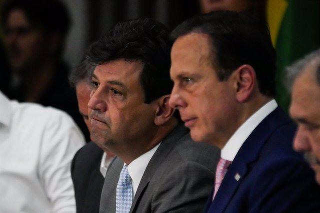Coronavirus- El ministro de Salud de Brasil anuncia que estará en el cargo hasta