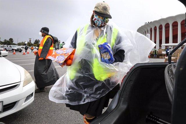 AMP.-Coronavirus.-El alcalde de Los Ángeles avisa de que podría no haber concent