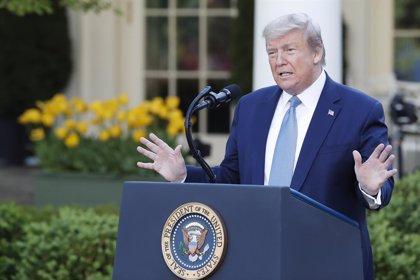 """AMP.- Coronavirus.- Trump publicará este jueves las pautas para reabrir EEUU porque """"ha pasado el pico"""" de infecciones"""
