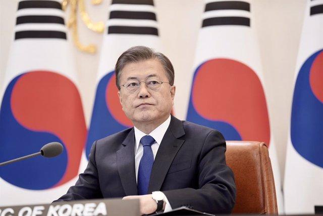 AMP.- Corea del Sur.- El partido gubernamental de Corea del Sur logra mayoría ab