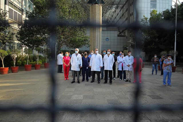 Coronavirus.- El Gobierno mexicano anuncia sanciones contra las empresas no esen
