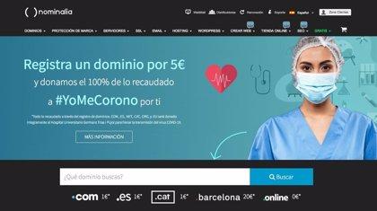 Nominalia recauda 10.000€ para la iniciativa #yomecorono