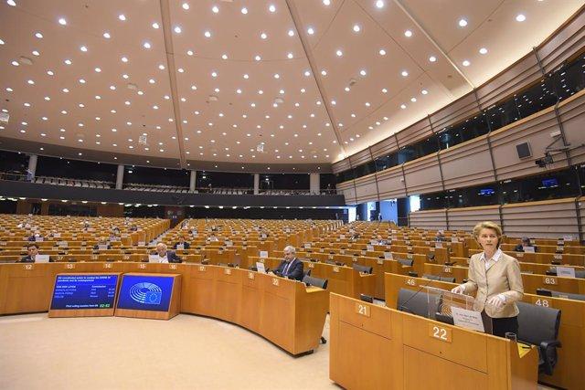 Coronavirus.- Von der Leyen dice que la UE necesita un Plan Marshall de inmediat