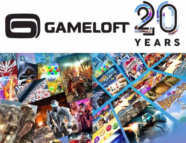 Gameloft reúne en una 'app' 30 de sus juegos móviles más icónicos para celebrar