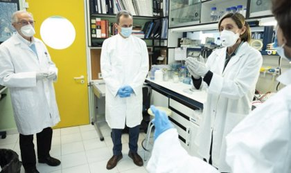 Coronavirus.- Duque visita el Centro Nacional de Biotecnología, que trabaja para encontrar una vacuna al COVID-19