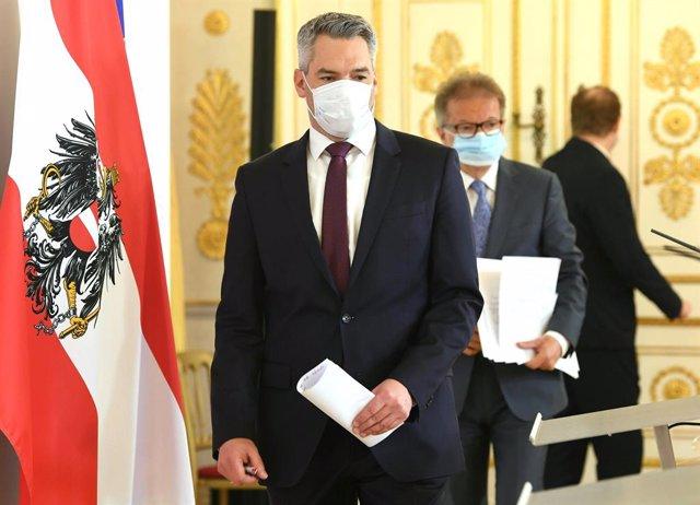Coronavirus.- Austria realizará pruebas de coronavirus a quienes vivan y trabaje