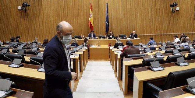 El ministro de Sanidad, Salvador Illa, comparece en el Congreso de los Diputados