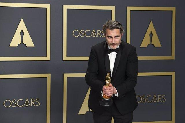 Joaquin Phoenix, ganador del Oscar al mejor actor protagonista por Joker